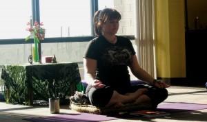 Leading Meditation